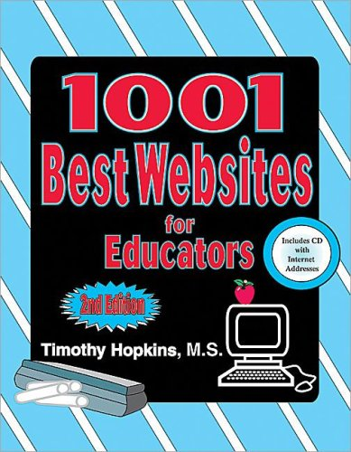 9780743934664: #1001 WEBSITES/EDUCTRS 2ND*CD(B&N)