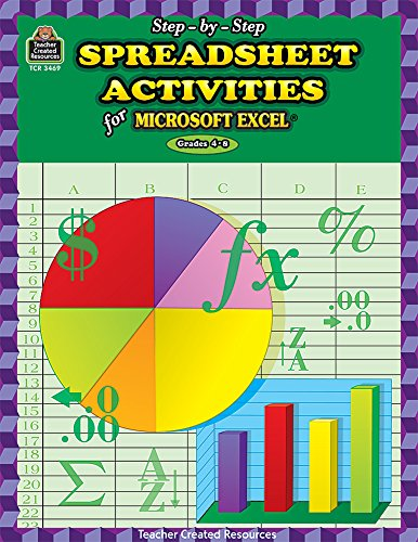 Step-by-Step Spreadsheet Activities for Excel(R) (Step-By-Step (Teacher Created Resources)): Brown,...
