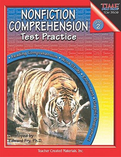 9780743935098: Nonfiction Comprehension Test Practice, Level 2