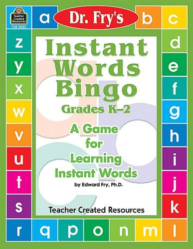 9780743935234: Dr. Fry's Instant Words Bingo: A Game for Learning Instant Words