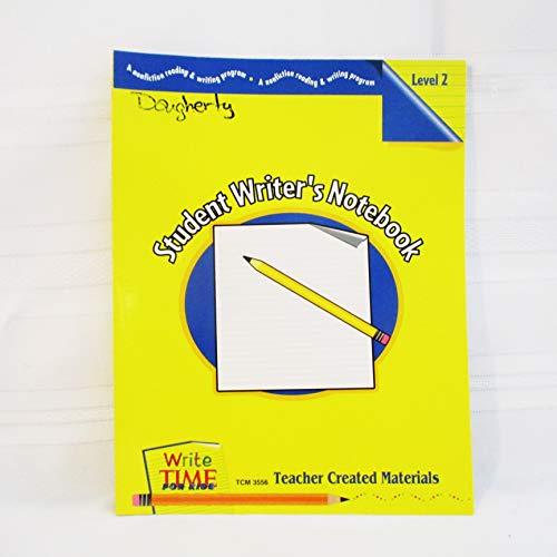 Student Writer's Notebook Level 2: Jennifer Prior
