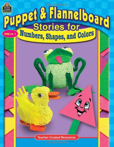 9780743936996: Puppet & Flannelboard Stories for Numbers, Shapes, and Colors