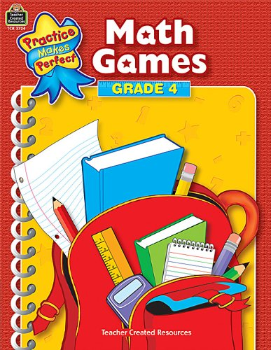 9780743937245: Math Games Grade 4 (Practice Makes Perfect (Teacher Created Materials))