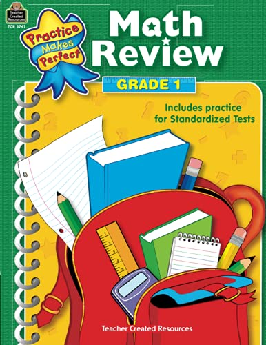 9780743937412: Math Review Grade 1 (Practice Makes Perfect (Teacher Created Materials))