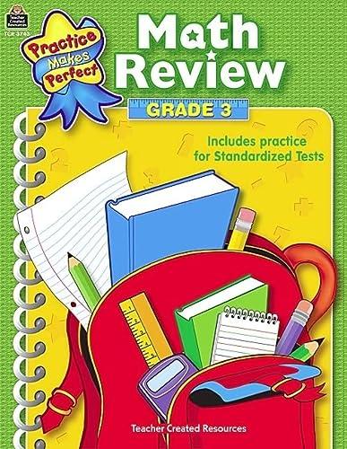 9780743937436: Math Review: Grade 3