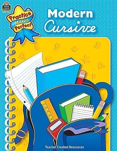 9780743937696: Modern Cursive (Practice Makes Perfect (Teacher Created Materials))