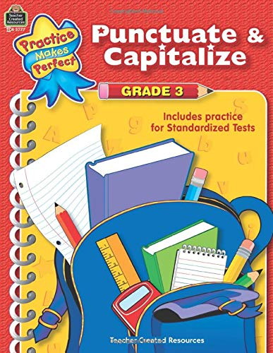 9780743937771: Punctuate & Capitalize Grade 3 (Practice Makes Perfect)