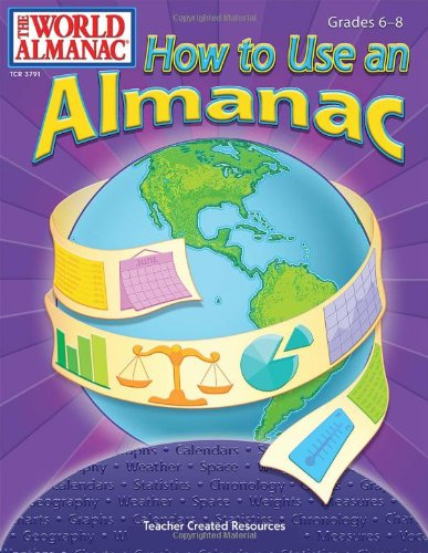 How to Use an Almanac from The World Almanac(R) for Kids: Teacher Created Resources Staff