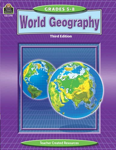 9780743937993: World Geography (Teacher Created Materials)