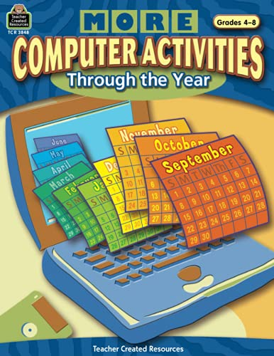 9780743938488: More Computer Activities Through The Year
