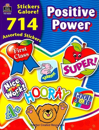9780743942256: Positive Power Stickers Galore! [With 714 Assorted Stickers]