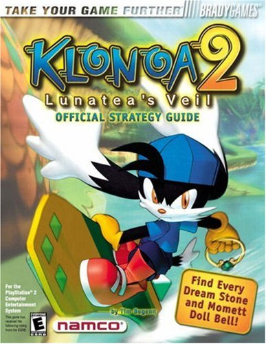 9780744000757: Klonoa: Lunatea's Veil Official Strategy Guide: 2 (Bradygames Strategy Guides)