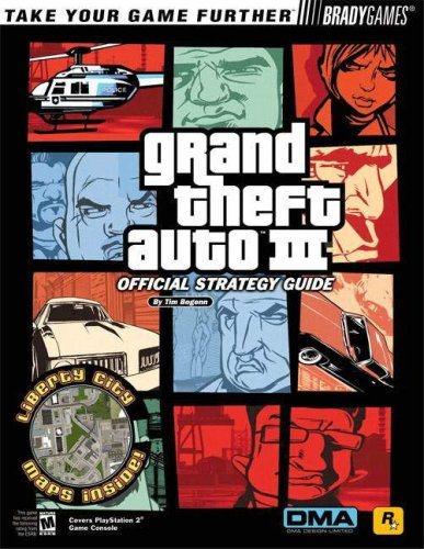 9780744000986: Grand Theft Auto 3 Official Strategy Guide (BradyGames)