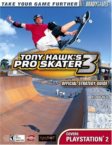 9780744001167: Tony Hawk's Pro Skater 3 Official Strategy Guide for PlayStation 2 (Brady Games)