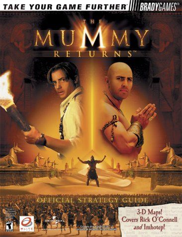 9780744001280: The Mummy Returns Official Strategy Guide (Bradygames Strategy Guides)