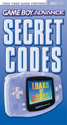 9780744001341: Game Boy Advance Secret Codes