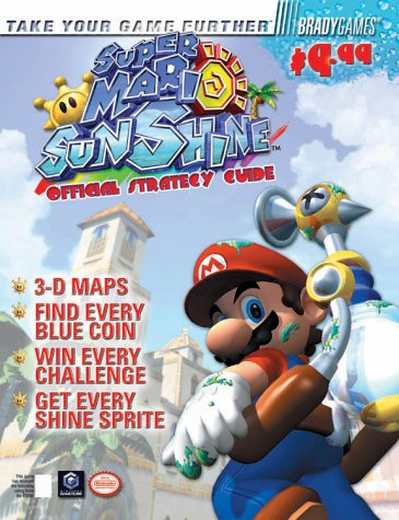 9780744001808: Super Mario Sunshine(tm) Official Strategy Guide (Brady Games)