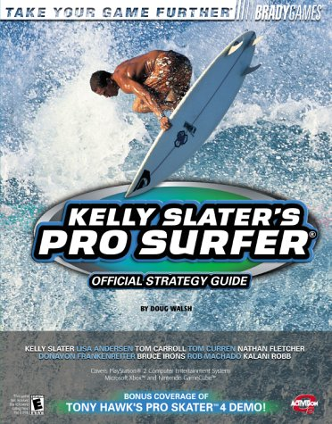 9780744001839: Kelly Slater's Pro Surfer Official Strategy Guide
