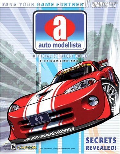 9780744002195: Auto Modellista(TM) Official Strategy Guide (Official Strategy Guides (Bradygames))