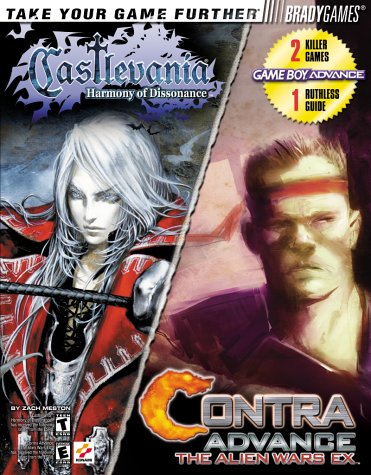 9780744002232: Castlevania Harmony of Dissonance / Contra Advance Official Strategy Guide