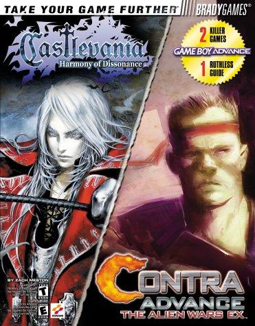 9780744002232: Castlevania/Contra Advance: Harmony of Dissonance/the Alien Wars Ex : Game Boy Advance