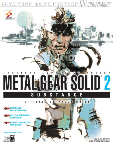 9780744002263: Metal Gear Solid¿ 2: Substance(tm) Official Strategy Guide for Xbox (Brady Games)