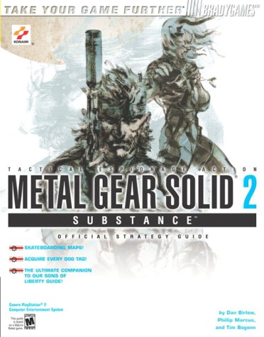 9780744002362: Metal Gear Solid¿ 2: Substance(tm) Official Strategy Guide for PlayStati (Brady Games)