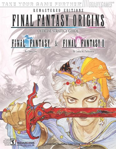 9780744002539: Final Fantasy Origins: Official Strategy Guide