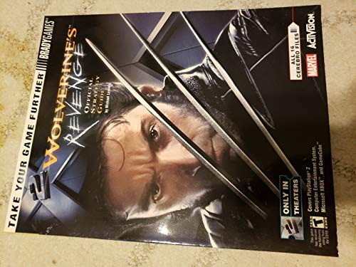 9780744002645: Wolverine's Revenge Official Strategy Guide (Cover PS2, XBOX, Gamecube.)