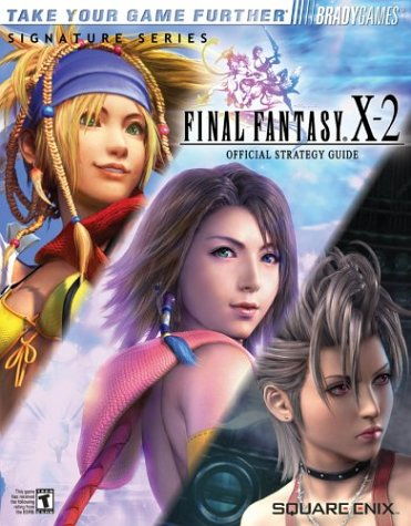Final Fantasy X-2 Limited Edition Strategy Guide.
