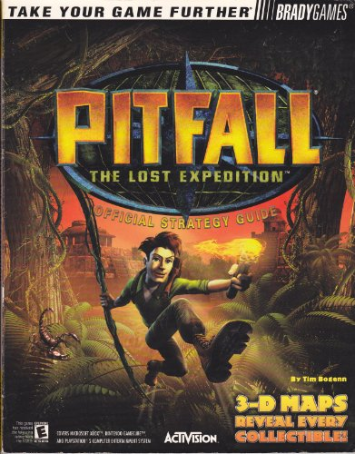 9780744003109: Pitfall(R): The Lost Expedition(TM) Official Strategy Guide