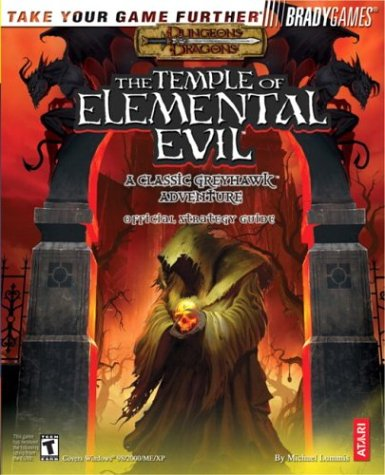 9780744003376: The Temple of Elemental Evil: A Classic Greyhawk Adventure Official Strategy Guide