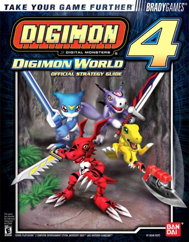 9780744004045: Digimon World 4 Official BradyGames Strategy Guide