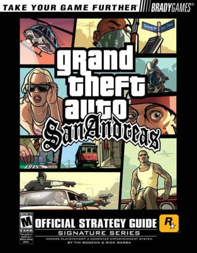 9780744004298: Grand Theft Auto: San Andreas Official Strategy Guide