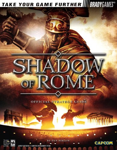 9780744004380: Shadow of Rome(tm) Official Strategy Guide (Official Strategy Guides (Bradygames))