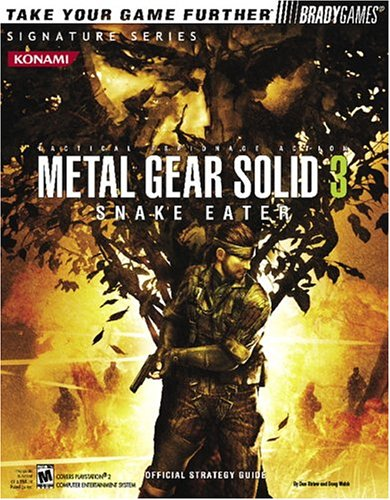 9780744004779: OSG Metal Gear Solid 3 (Official Strategy Guides (Bradygames))