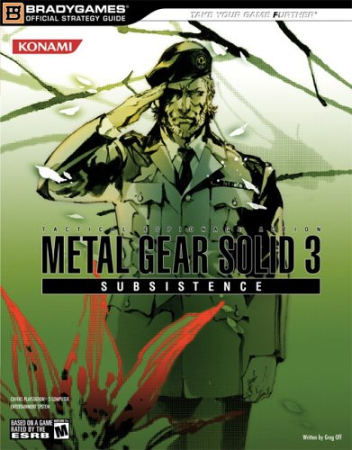 Metal Gear Solid 3: Subsistence Official Strategy Guide )
