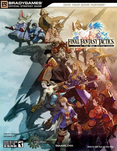 9780744009743: Final Fantasy Tactics: The War of the Lions Official Strategy Guide (BradyGames Official Strategy Guides)