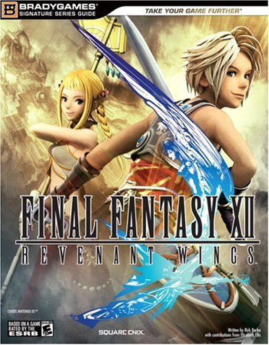 9780744009804: Final Fantasy XII: Revenant Wings Strategy Guide (BradyGames Signature Series)