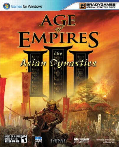 9780744009903: Age of Empires III: The Asian Dynasties Official Strategy Guide (Official Strategy Guides (Bradygames))