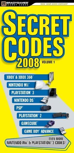9780744009941: Secret Codes 2008 (Cheat Code: Overload)
