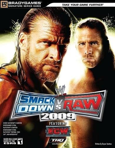 WWE SmackDown vs. Raw 2009 Signature Series Guide (Bradygames Signature Guides) (9780744010589) by BradyGames