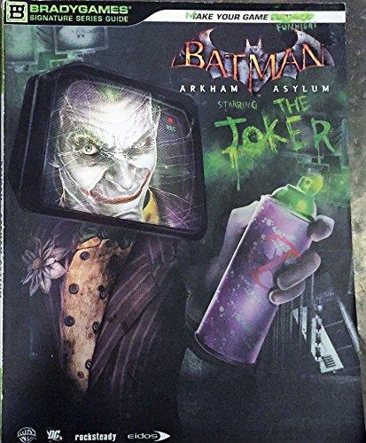 9780744011562: Batman Arkham Asylum (Bradygames Signature Series Guide)