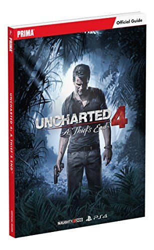 9780744016611: Uncharted 4: A Thief's End Standard Edition Strategy Guide