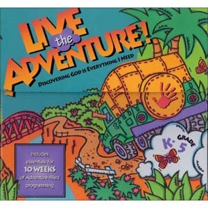 9780744107586: Live the Adventure: Discovering God Is Everything I Need Grow&go Zone Leader's Guidebook (Life Application activities and discussion questions)