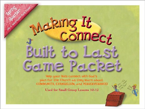 Making It Connect Spring Quarter Built to Last Game Pack: God's Story: Genesis-Revelation (Promiseland) (0744119448) by Willow Creek Association