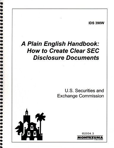 9780744234428: A Plain English Handbook: How to Create Clear SEC Disclosure Documents
