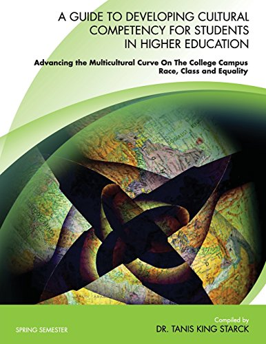 9780744240818: A Guide To Developing Cultural Competency For Students In Higher Education Advancing the Multicultural Curve On The College Campus RACE, CLASS and EQUALITY