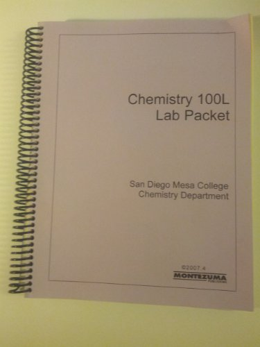9780744264739: Chemistry 100L Lab Packet