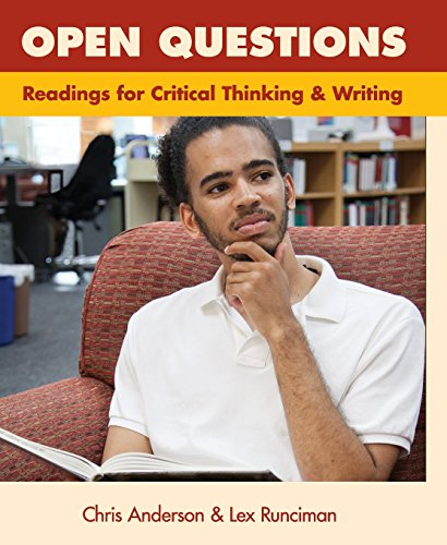 9780744284560: Open Questions: Readings for Critical Thinking and Writing